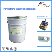 Anti-staining polyurethane sealant for electron component