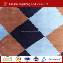 China manufacturer factory direct plaid printed flannel fleece coral fleece JC163