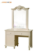 hot asle white color soli wood dressing dressing table for bedroom