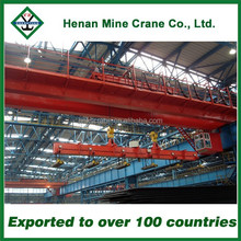 Best Selling Double Girder/Beam Magnetic Overhead Crane from TOP2 Company in China Crane Hometown
