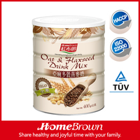 HOME BROWN Oat & Flaxseed Drink Mix