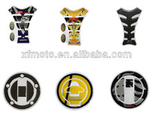 Motor Fuel Tank and Cap Protector Sticker Decal for Suzuki Yamaha Honda Kawasaki