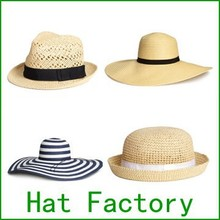 Wholesale Cheap China Hat Factory Custom Straw Hat