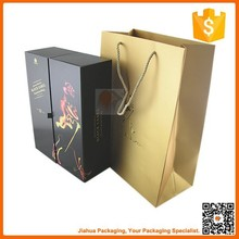 luxury wine and wine glass gift box made in china