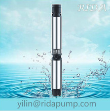 """vortex 76 oil filling 6"""" 6SR irrigation centrifugal //cast iron solar systerm submersible water pump"""