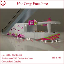 Indoor shopping mall used juice bar layout plan design for sale