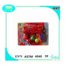 caliente venta de plástico de juguete pelota de ping pong con la pistola de bolas 4