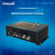 most popular commodity mpeg2 ISDB-T distribution to tvs over coax (Tuner,CVBS in; RF out) for hotel hch