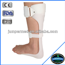 AN-801 white plastic medical ankle brace support made in Taiwan