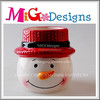 Hot Selling Ceramic Snowman Candy Jar Cool Christmas Gifts