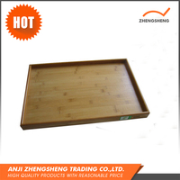 Unique design competitive price wholesale bamboo serving tray