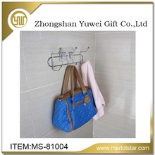 2013 American Discover Instant chrome plating storage for hand bag no nail wall hooks
