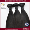 New 2014 Wholesale Black Unprocessed Full cuticle hair extensions hong kong