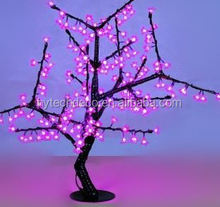 2013 Hot New mini led christmas apple tree for corporate parites