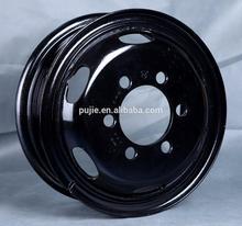 oem tubeless cerchio in acciaio tubo ruota usato per i camion e autobus passeggeri per toyota