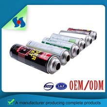 Factory Price 4 Colours 2 Pieces Aerosol Tin Can With Different Sizes