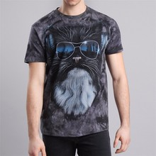 wholesale the fashionable 100% cotton printed Animal 3d T-Shirt manufacturer from China
