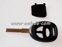 car key SAAB 3 button remote key shell, SAAB remote key blank