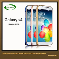 2015 new arrival case for samsung galaxy s4 i9500 metal frame