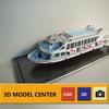 Delicate Passenger ship model