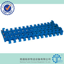 plastic modular belt Conveyor belt with Pop-up flights