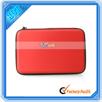 Universal 9 inch Tablet PC PU Leather Case with Speaker Function and 3.5mm Mini USB Cable Red