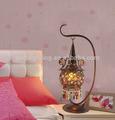 Multi- color decoración para el hogar de escritorio antiguo de las zonas rurales de la lámpara led de lectura junto a la cama de la lámpara de china