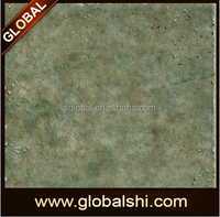 400x400 Rustic Design Ceramic Floor Tile green blue color,Different types of rustic ceramic floor tile