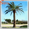 Life size nearly realistic artificial palm tree leaves decorative metal palm trees artificial fiberglass palm tree