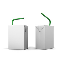 Customized cardboard juice packaging box manufacturer