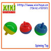2015 Best seller cheap plastic spinning top toy