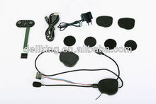 400m intercom and 4 buttons control Bluetooth for motorcycle helmet