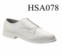 CH, Wrinkle resistant pointy toe fashionable Bates white military navy shoes
