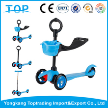 Folding Micro Maxi Mini Kick Scooter with LED Light up Wheels