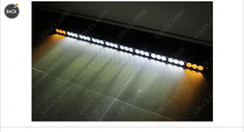 180w 33inch Amber white 3D c'ree strobe flash led light bar