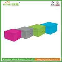 foldable storage cube fabric storage bins with lids