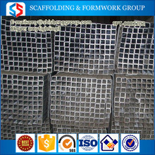 Tianjin SS Group favorable price Zinc Coated Galvanized Square Pipe/Tube for Fluid