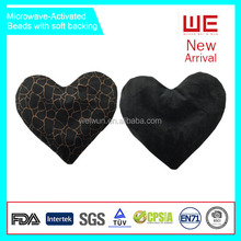 Microwave activated Thermal Heart Shape Pillow hot cold therapy