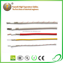 350deg.c 300/500v fiberglass lappings insulated electrical wire cable