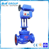 electric remote water flow control valve