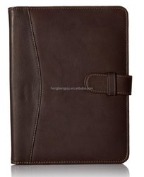 2015 manafacture PU Leather pad table Foldable Leather Cover