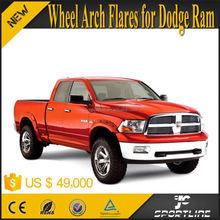Black ABS RAM Car Mud Fender For Dodge Ram 1500 SL Crew Cab Pickup 2D 4D POCKET RIVET Style 09-15
