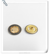 Customized diamond 4 Parts Snap Metal Button For Jackets