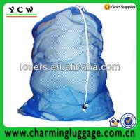 wholesale drawstring mesh laundry bag