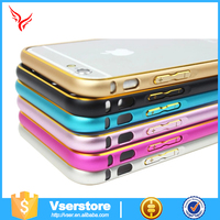cell phone case manufacturer mobile phone accessories metal bumper case for iphone5/5s