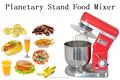Mezclador de comida 10 litros de pie/mezclador de comida planetary ROJO