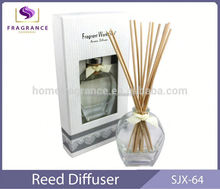 80ml reed diffuser decorative glass reed diffuser deodorize air freshener