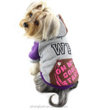 Wholesale cheap dog hoodie !Autumn and winter pet clothing /dog coat clothes for teddy,poodle,chihuahua clothes
