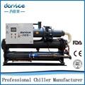 Alta eficiência Dannice shell seco e evaporador de tubo 100kw chiller de refrigeração de água sistema