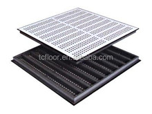 Tianchi floor High quality Data center steel perforated raised floor tile with HPL surface